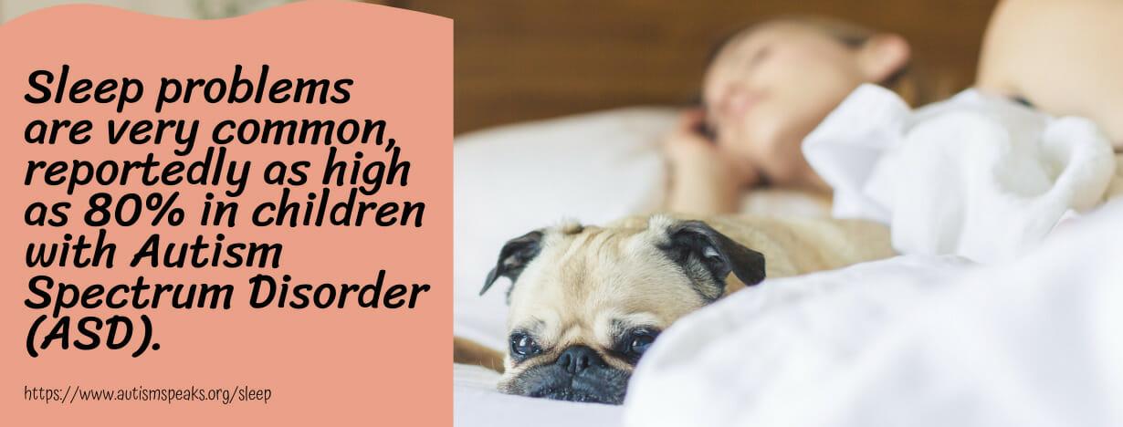 Autism - Sleep fact