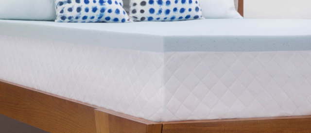 LinenSpa 2-inch Gel Infused Memory Foam Mattress Topper