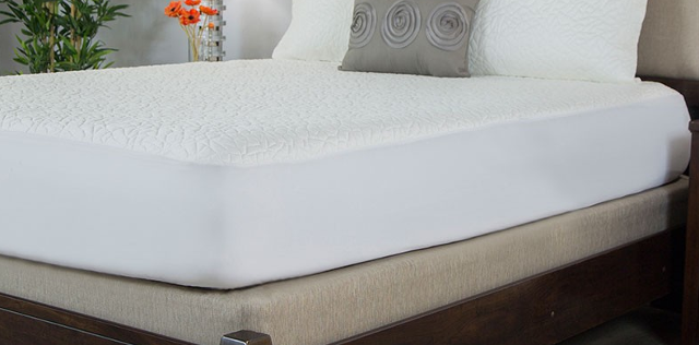 Protect-A-Bed Cooling Mattress Pad Therm-A-Sleep Snow Protector
