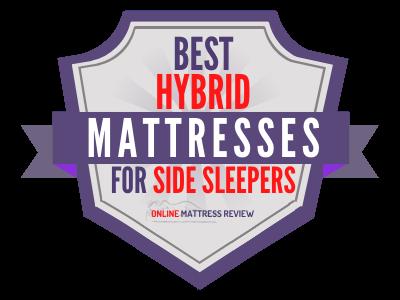 Best Hybrid Mattresses for Side Sleepers Badge