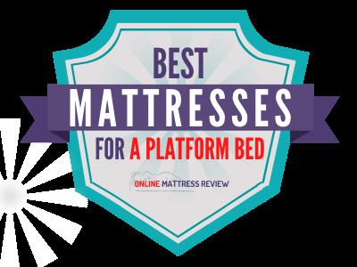 Best Mattresses for a Platform Bed Badge