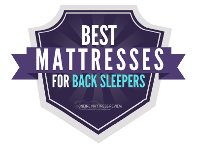 Best Mattresses for Back Sleepers Badges