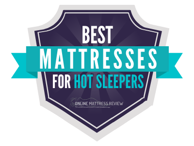 Best Mattresses for Hot Sleepers Badge