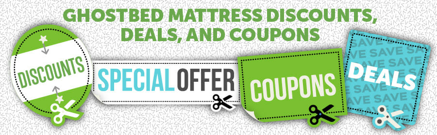 Ghostbed discounts, deals and coupons