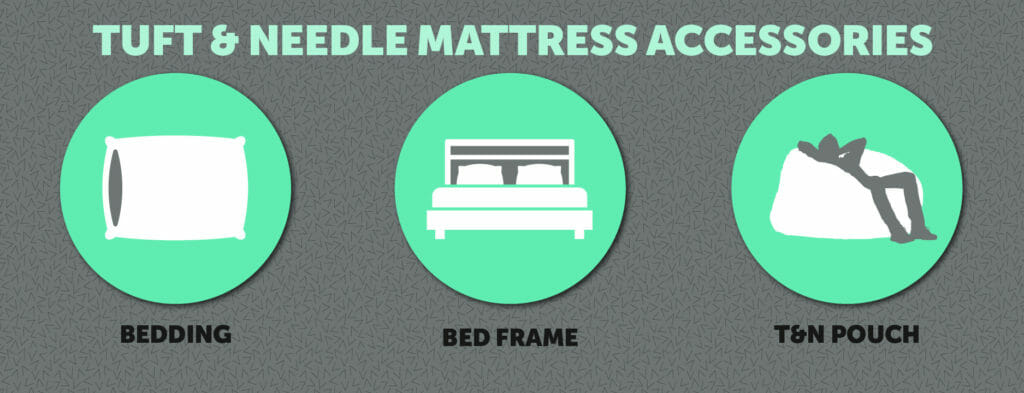 Tuft & Needle mattress accessories