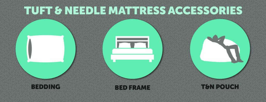 Tuft & Needle mattress accessories