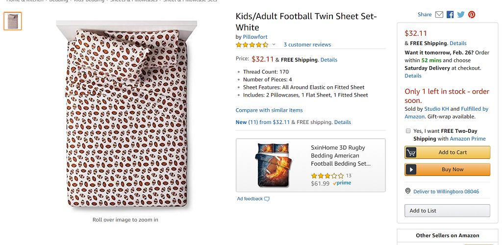 Pillowfort Twin Sheet Sets