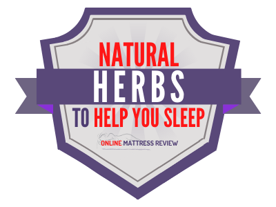 Best Natural Herbs to Help you Sleeps Badge