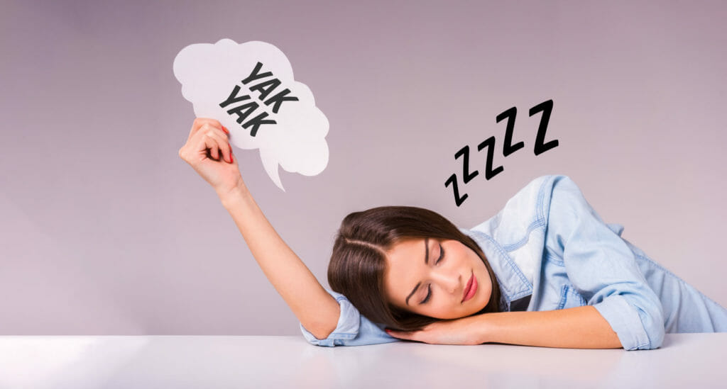 Why Do People Talk in Their Sleep