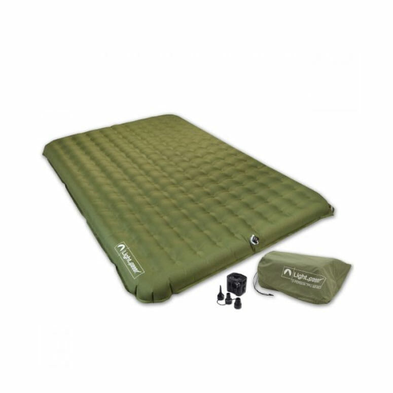 Light Speed 2-Person PVC-Free Air Bed with Pump