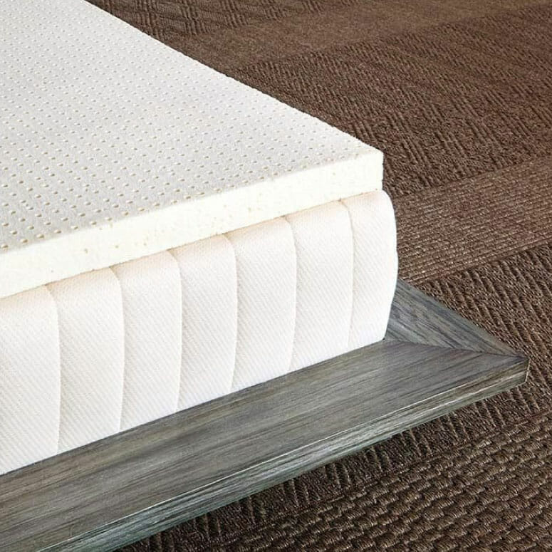 SleepOnLatex Pure Green Natural Latex Mattress Topper