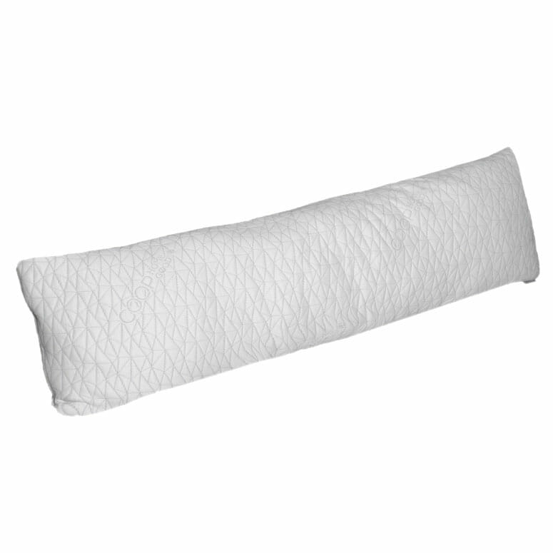 Coop Home Goods - Memory Foam Body Pillow with Adjustable Shredded Memory Foam