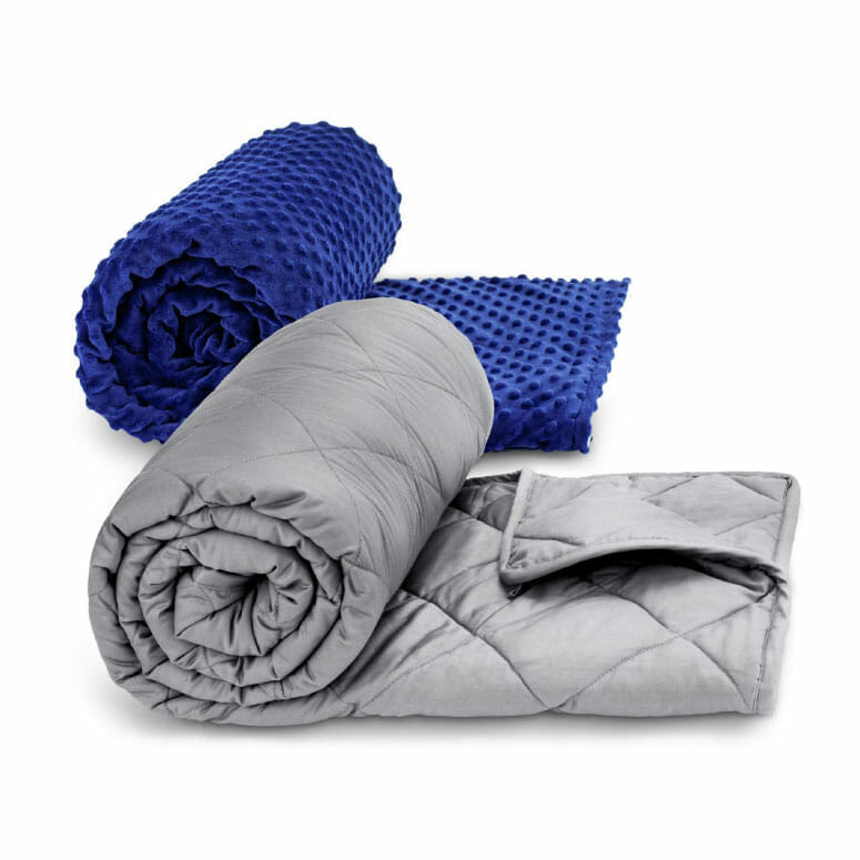 TBI Pro Super Soft Weighted Blanket