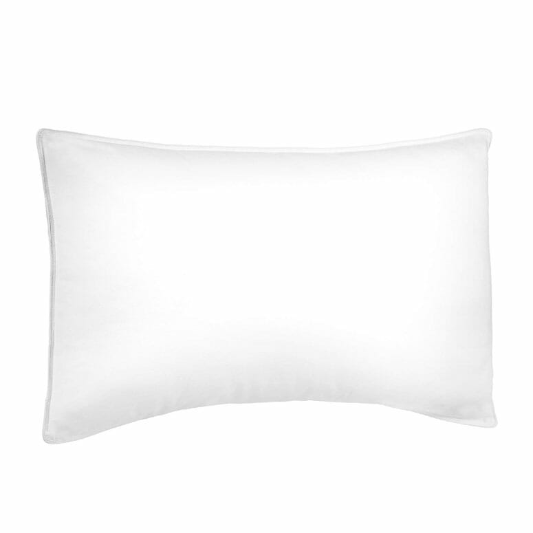 Pinzon Shed-Resistant White Duck Down Pillow