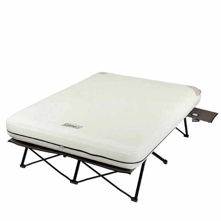 Coleman Camping Cot Air Mattress and Pump Combo