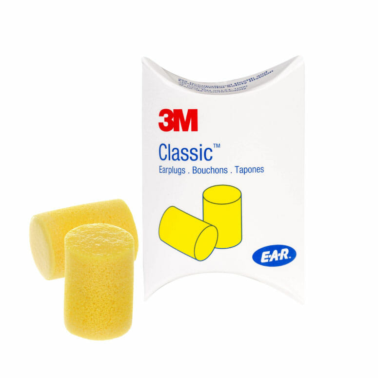 3M OCS1137 Classic Earplugs in Pillow Pak