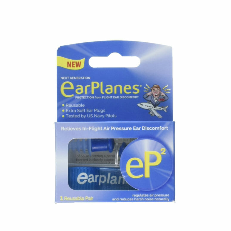 EP2 by Cirrus Healthcare Second Generation EarPlanes Earplugs