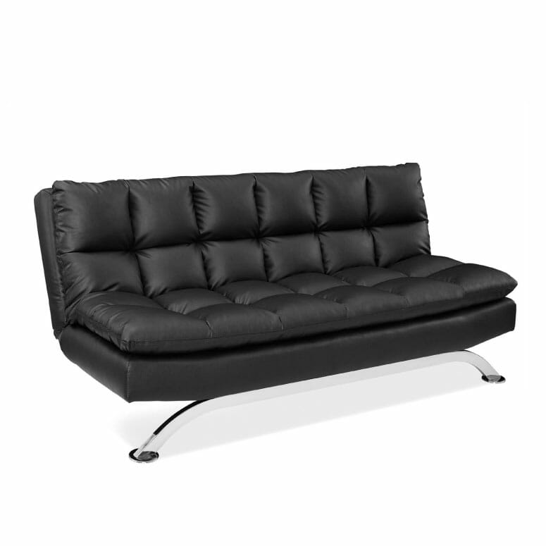 Pearington PEAR-BLK-7112 Bella Multi-Position Futon