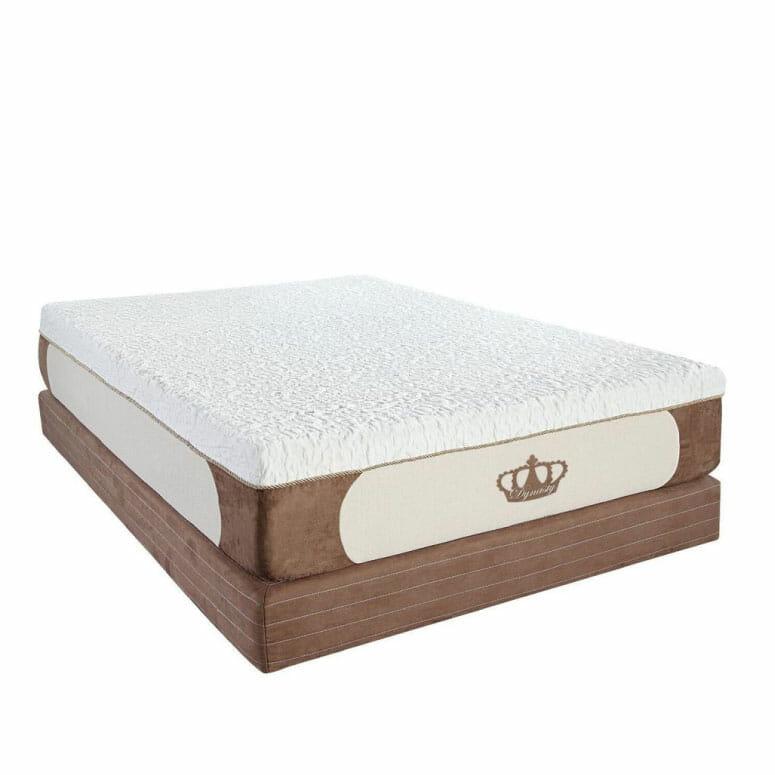 Dynasty Mattress CoolBreeze 12-Inch Gel Memory Foam Mattress