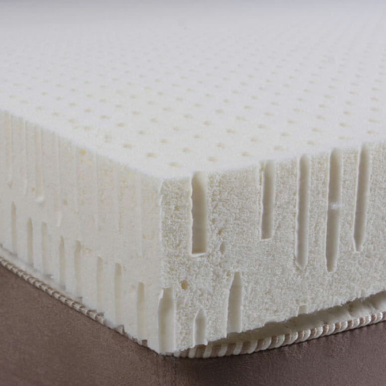 Plush Beds 100% Natural Talalay Latex Topper