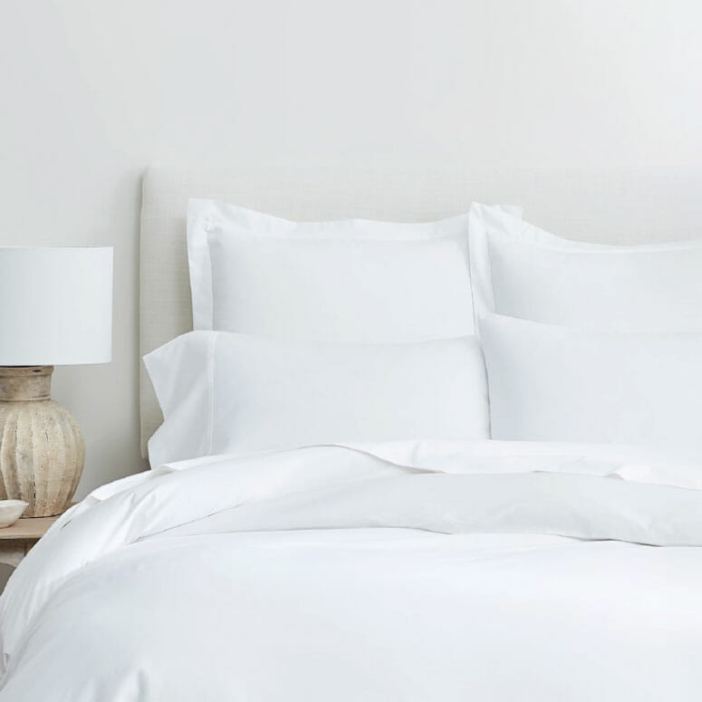 Boll and Branch Solid Hemmed Sheet Set