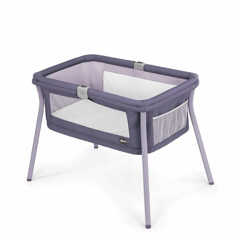 Chicco LullaGo Portable Bassinet in Iris