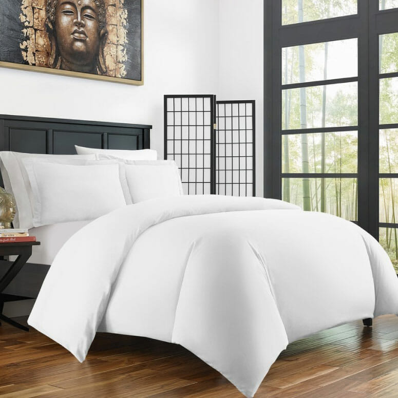 Zen Bamboo Ultra Soft 3-Piece Duvet Cover Set
