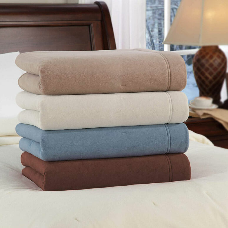 SoftHeat Luxury Fleece Electric Blanket by Perfect Fit