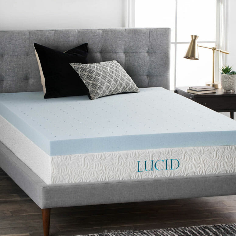 4-Inch Gel Memory Foam Mattress Topper
