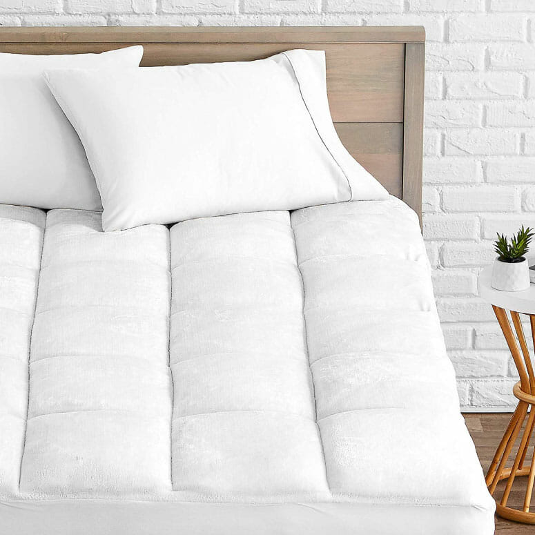 Bare Home Pillow-Top Mattress Pad