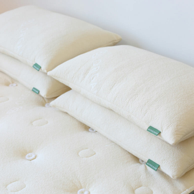 The Avocado Green Pillow