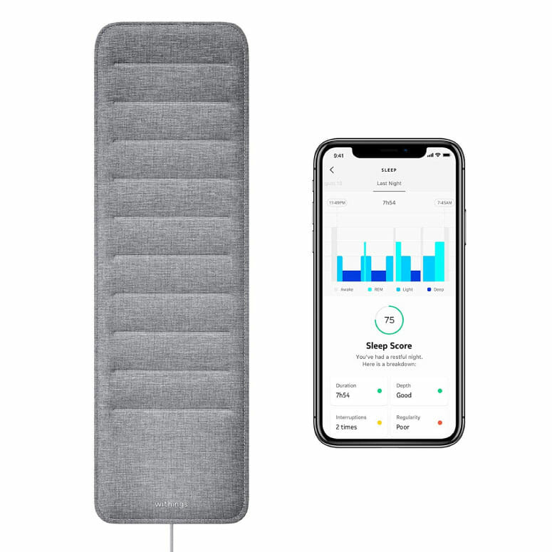 Sleep Tracking Pad by Withings