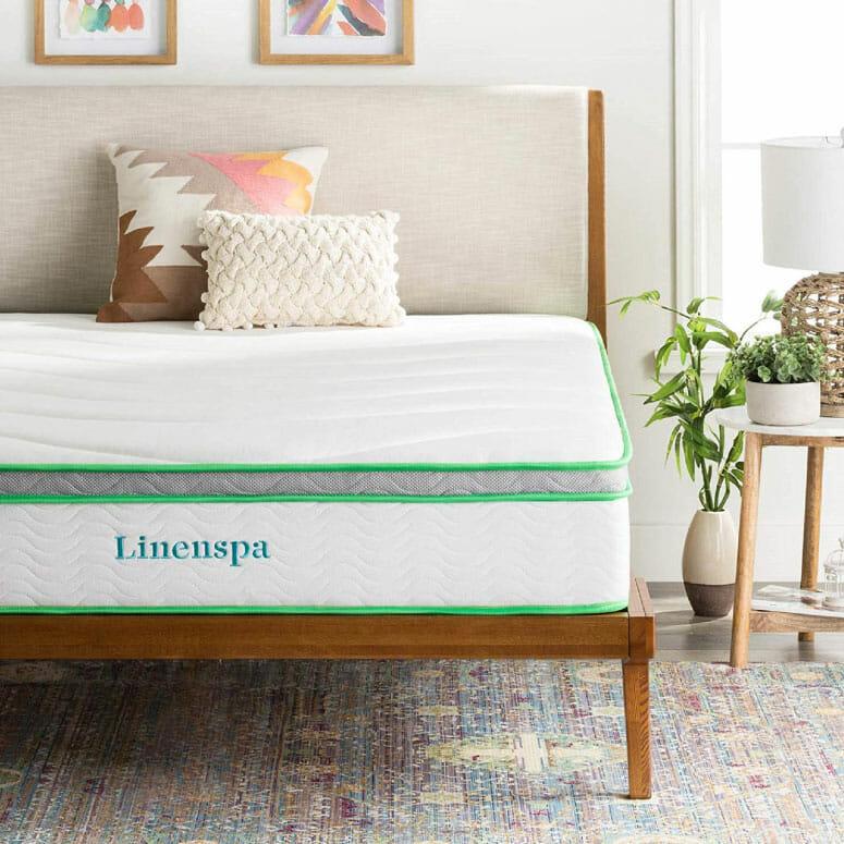 Linenspa 10-Inch Hybrid Mattress