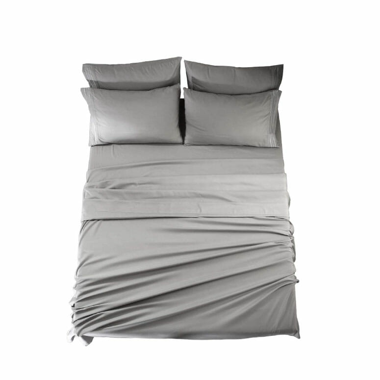 EASELAND Queen Size 6-Piece Bed Sheets Set