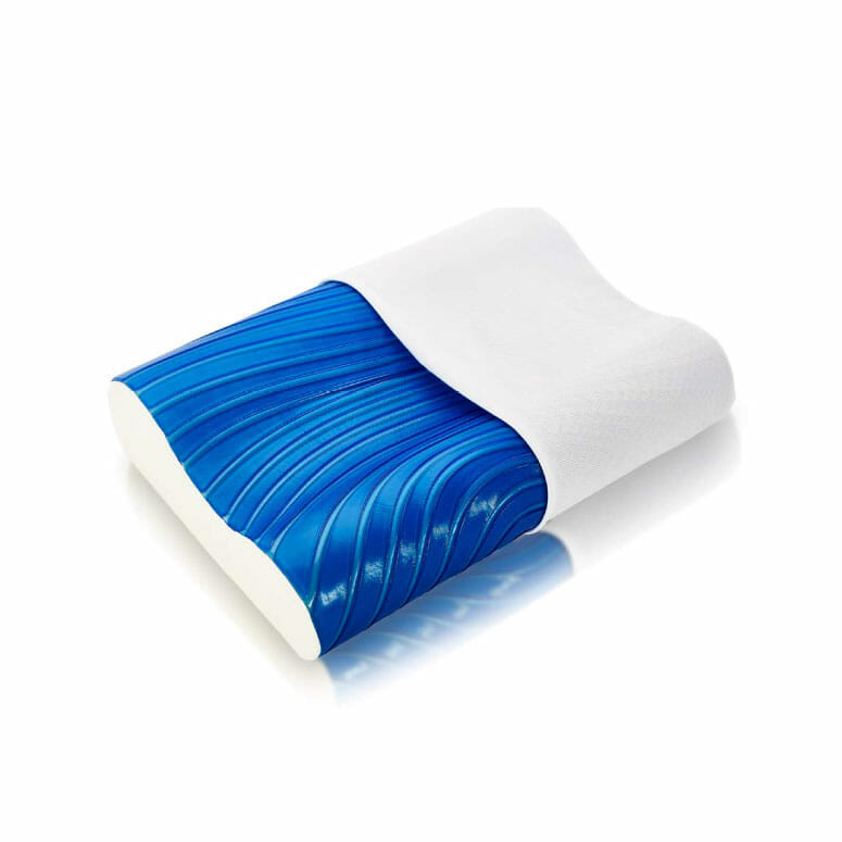 ViscoSoft Cooling Arctic Gel Contour Pillow