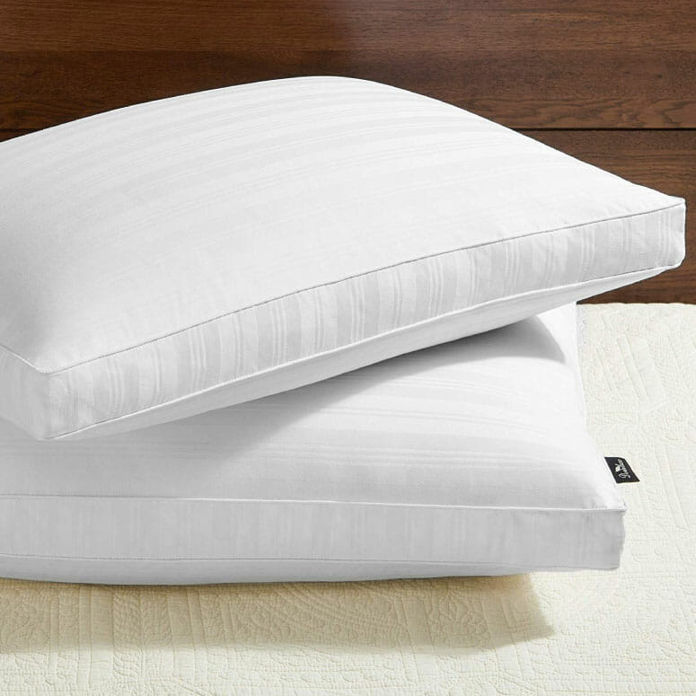 downluxe Goose Feather Down Pillow Gusseted