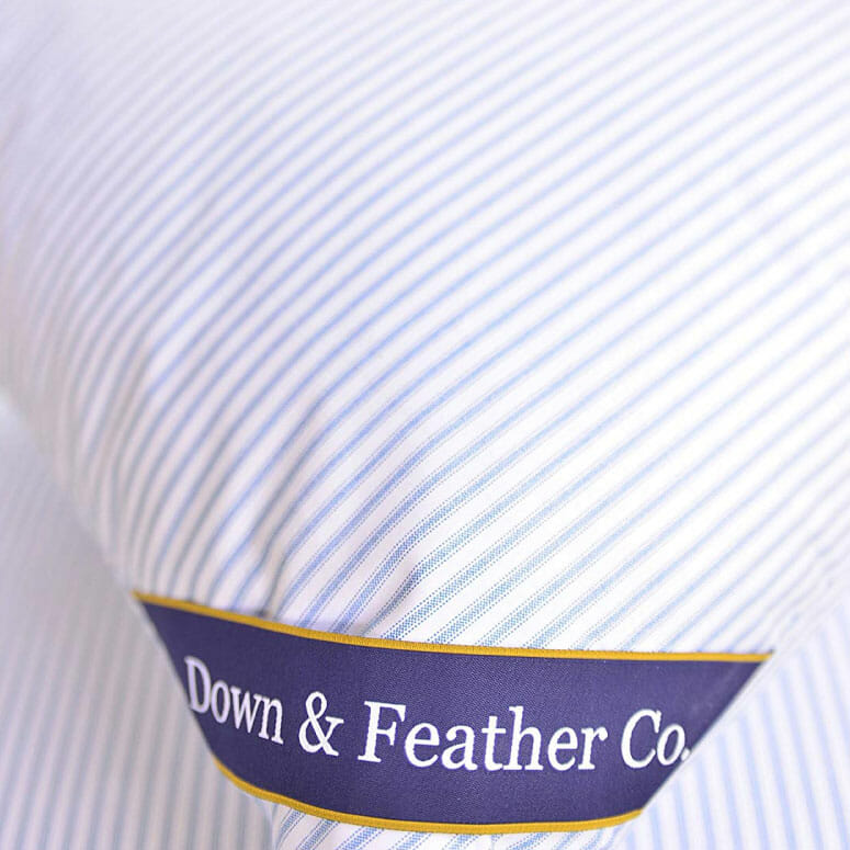 Down & Feather Co. Original Extra Firm Hungarian Goose Feather Pillow