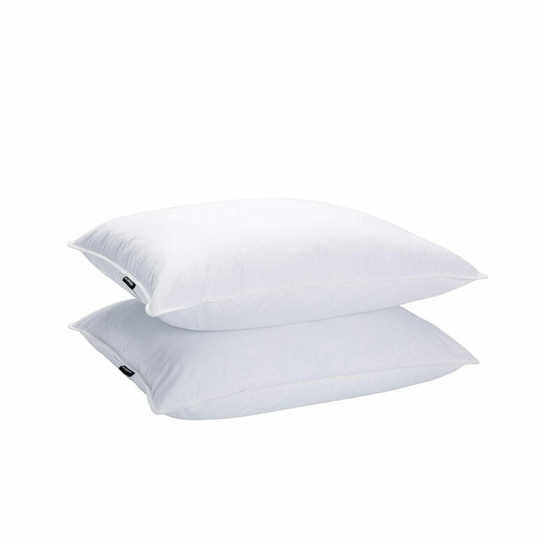 JA COMFORTS Goose Down and Feather Bed Pillows
