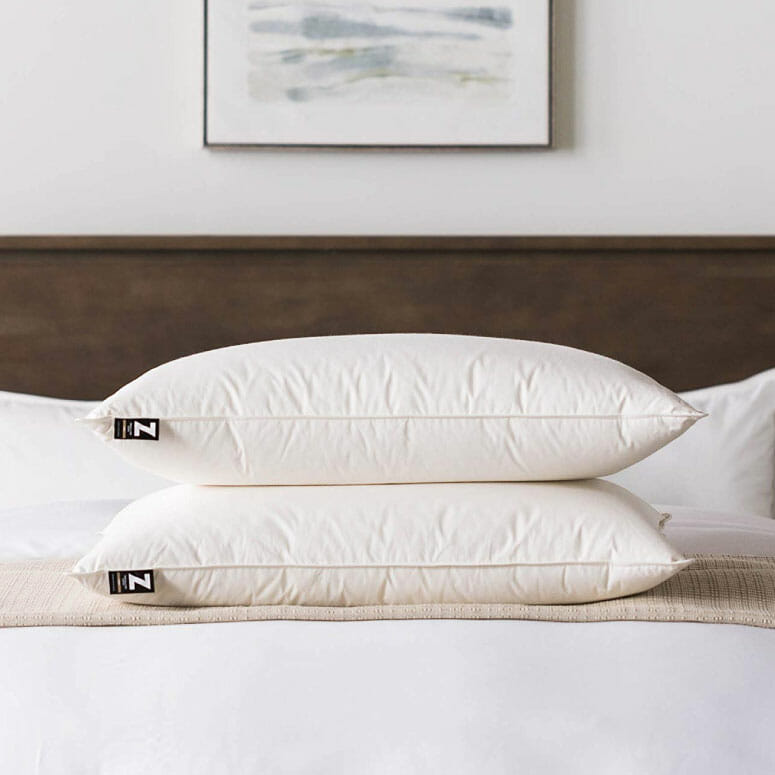MALOUF Z TRIPLELAYER Down Pillow