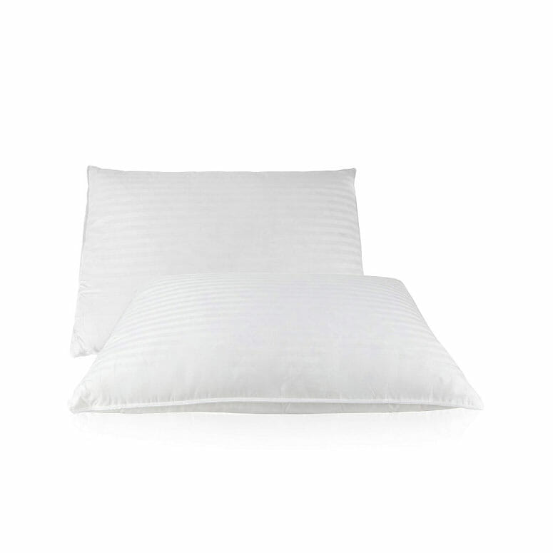 East Coast Bedding 2 Pack Luxury Goose Feather & Down-Filled Pillows