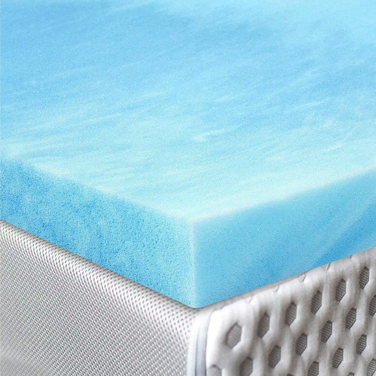 Red Nomad Foam Mattress Pad Bed Topper