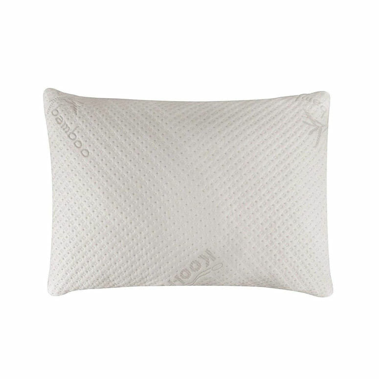 Snuggle-Pedic Ultra-Luxury Bamboo Shredded Memory Foam Pillow