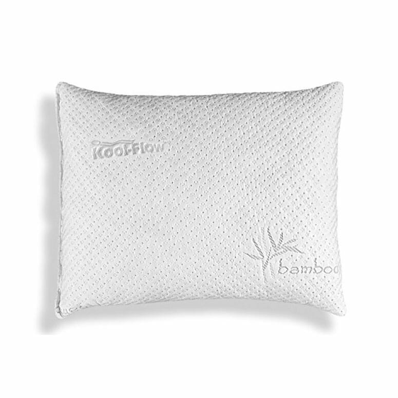 Xtreme Comforts Slim Hypoallergenic Shredded Memory Foam Pillow