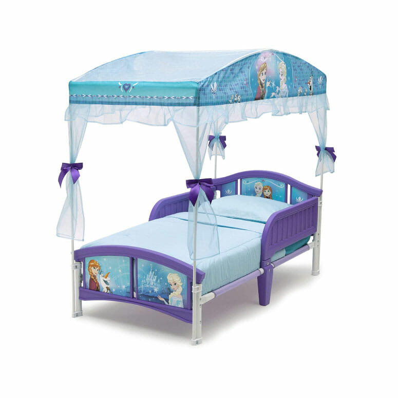Delta Children Canopy Toddler Bed