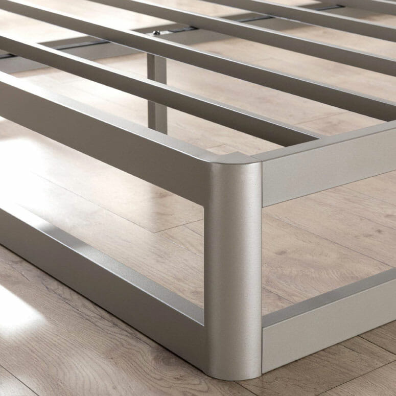 "Mellow Full 9"" Metal Platform Bed Frame"