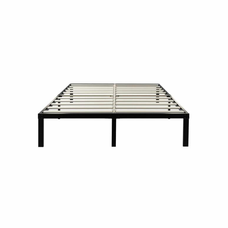 ZIYOO 14-Inch Wooden Slats Platform Bed Frame
