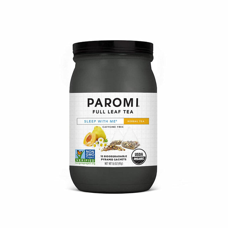 Paromi Tea Organic Sleep with Me Caffeine-Free Herbal Tea
