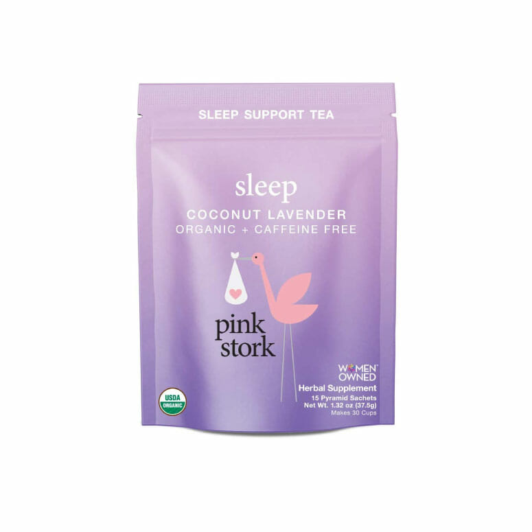 Pink Stork Sleep: Coconut-Lavender Sleep Support Tea