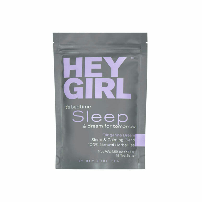 Hey Girl Tea Bedtime Tea for Stress and Anxiety Relief