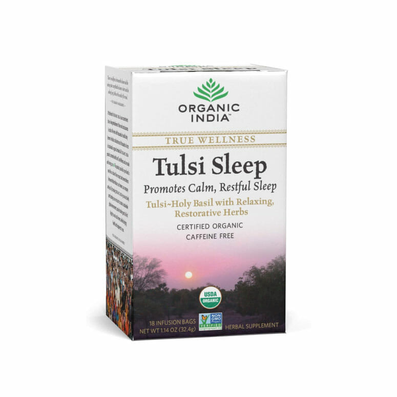 Organic India Organic Tulsi Herbal Tea — Tulsi Sleep